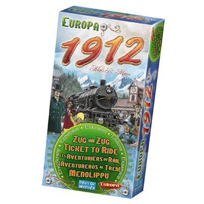 Days of Wonder Ticket to Ride - Europe 1912
