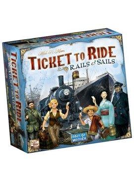 Days of Wonder Ticket to Ride Rails & Sails - NL