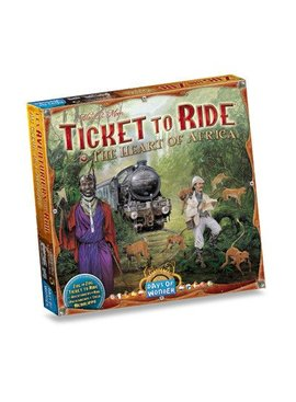 Days of Wonder Ticket to Ride - Africa (Map Collection #3)
