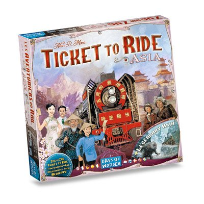 Days of Wonder Ticket to Ride - Asia (Map Collection #1)