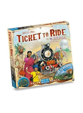 Days of Wonder Ticket to Ride - India & Switzerland (Map Coll. #2)