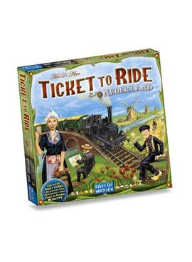 Days of Wonder Ticket to Ride - Nederland (Map Collection #4)