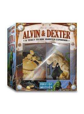Days of Wonder Ticket to Ride - Alvin & Dexter