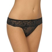 LingaDore Daily Lace String Black
