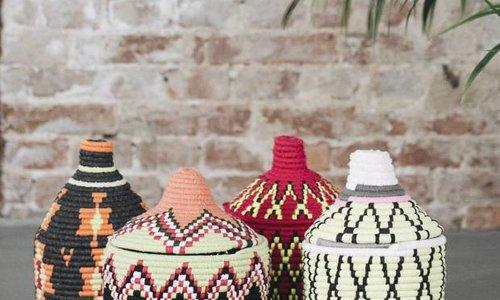 wool baskets