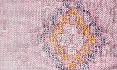 Vegan silk cactus rugs