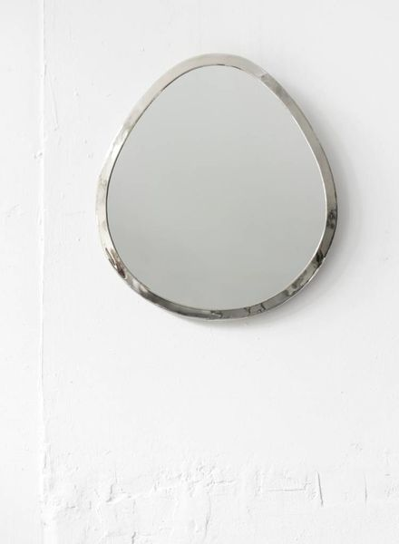 Silver Drop Mirror from Morocco