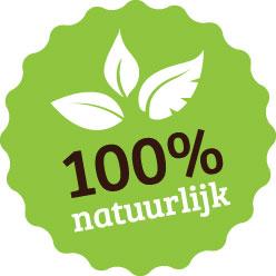 100% natuurlijk biologisch