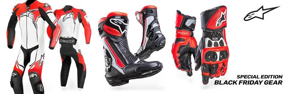 Alpinestars Alpinestars GP Plus suit LIMITED EDITION 1pc whiie black red fluo