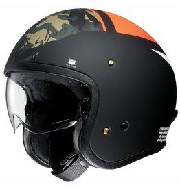 Shoei J-O Seafire Orange