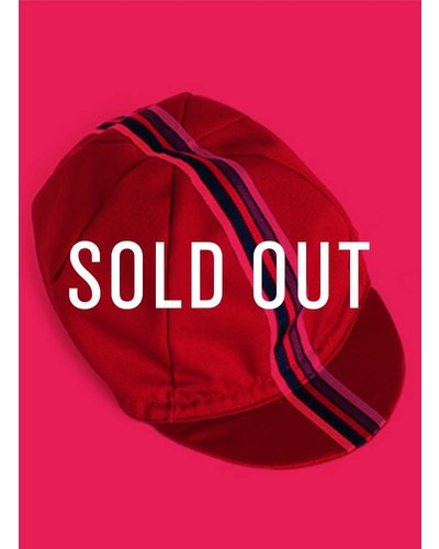 CYCLING CAP (RED) - OUT OF STOCK