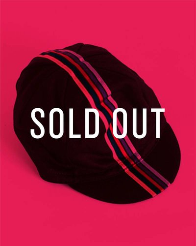 CYCLING CAP (BLACK) - OUT OF STOCK