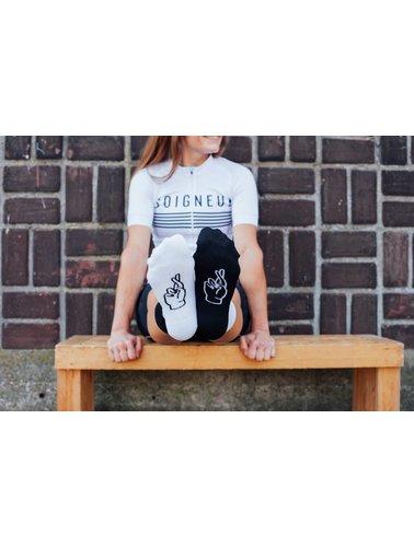 Bundle deal: Soigneur #17 & FINGERSCROSSED Cycling Socks
