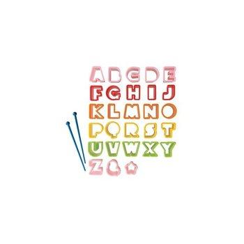 Torune Alfabet uitdrukvormpjes
