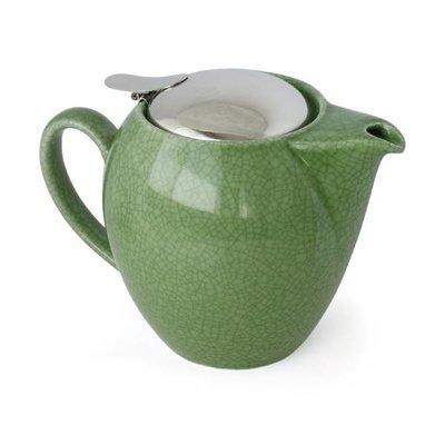 Zero Japan Teapot Green Crackle