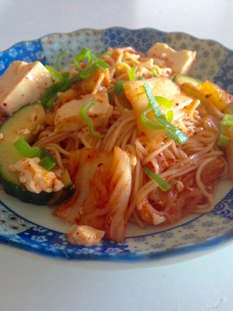 Soumen-Kimchi Salade