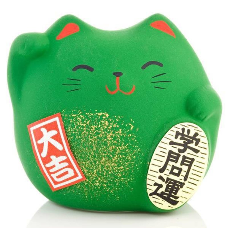 Lucky Cat Green