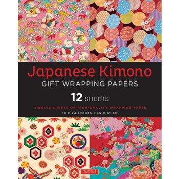 Tuttle Kimono Gift Wrapping Paper
