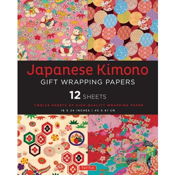 Tuttle Kimono Gift Wrapping Papers