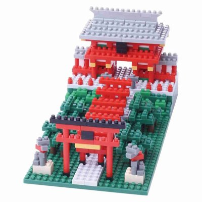 Nanoblock Inari Shrine