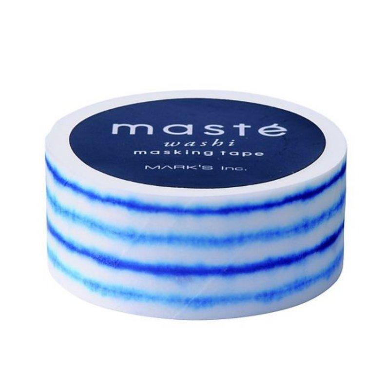 Masking Tape Shibori