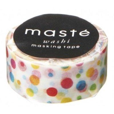 Masking Tape Dots