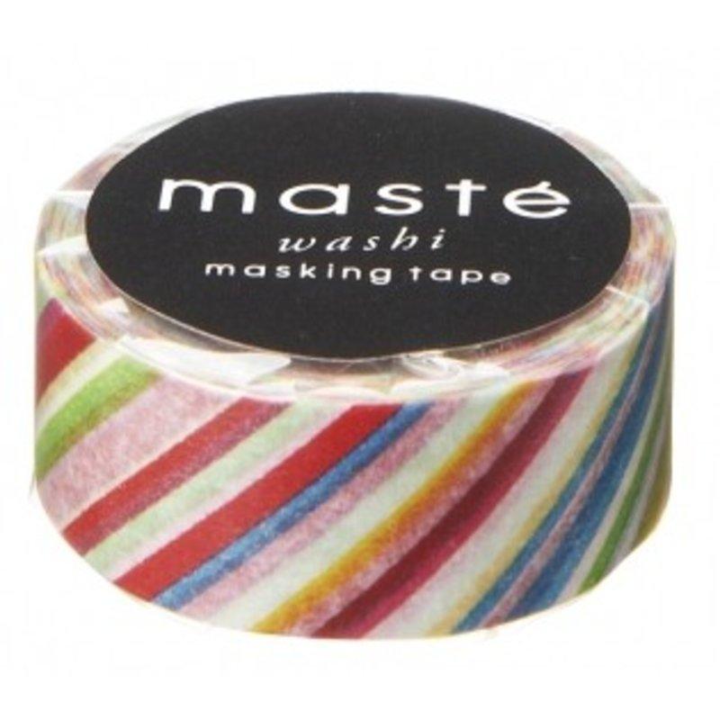 Masking Tape Colorful Stripes