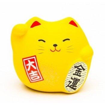 Maneki Neko Yellow