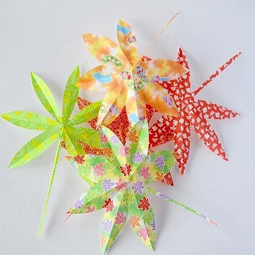 Japanse herfstbladeren