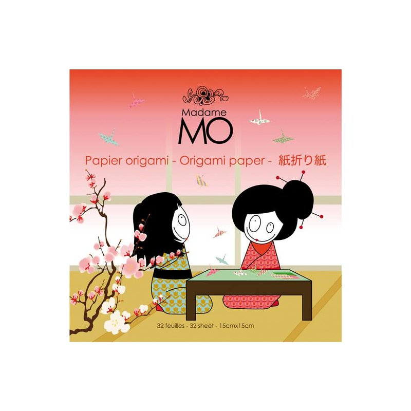 Madame Mo Origami Paper 1