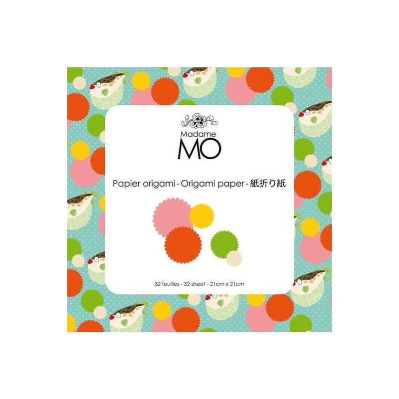 Madame Mo Origami Paper 3