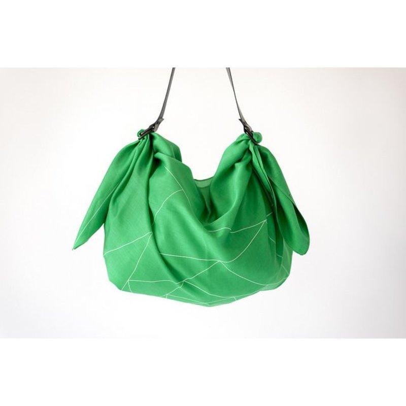 Furoshiki Green Triangles