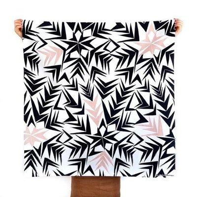Furoshiki Angles Black&Pink