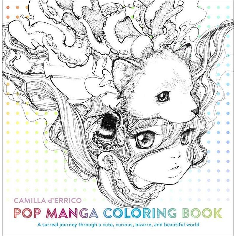 Pop Manga kleurboek