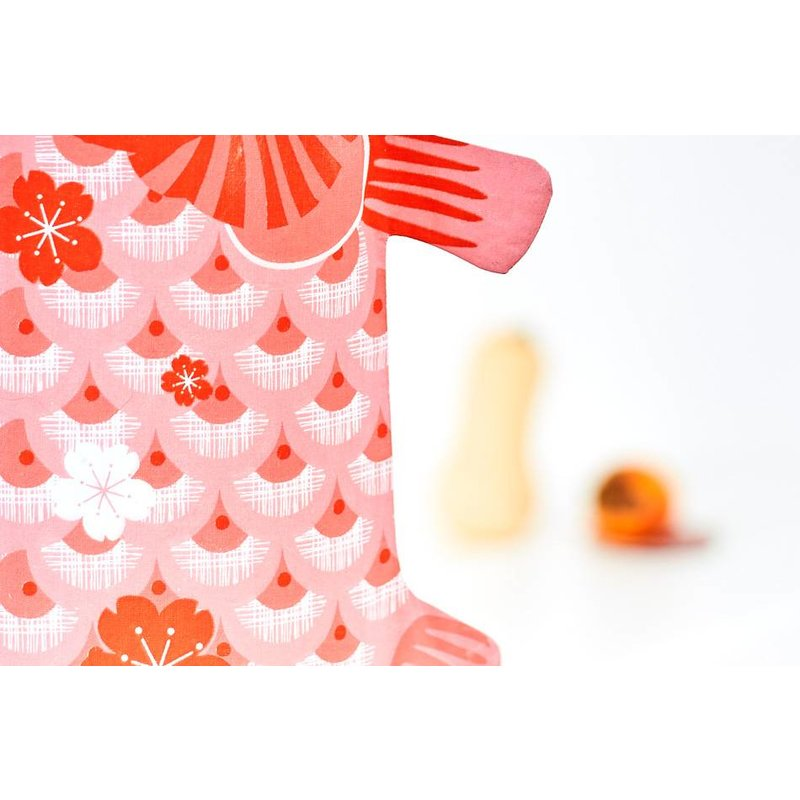 Koinobori Coral-pink