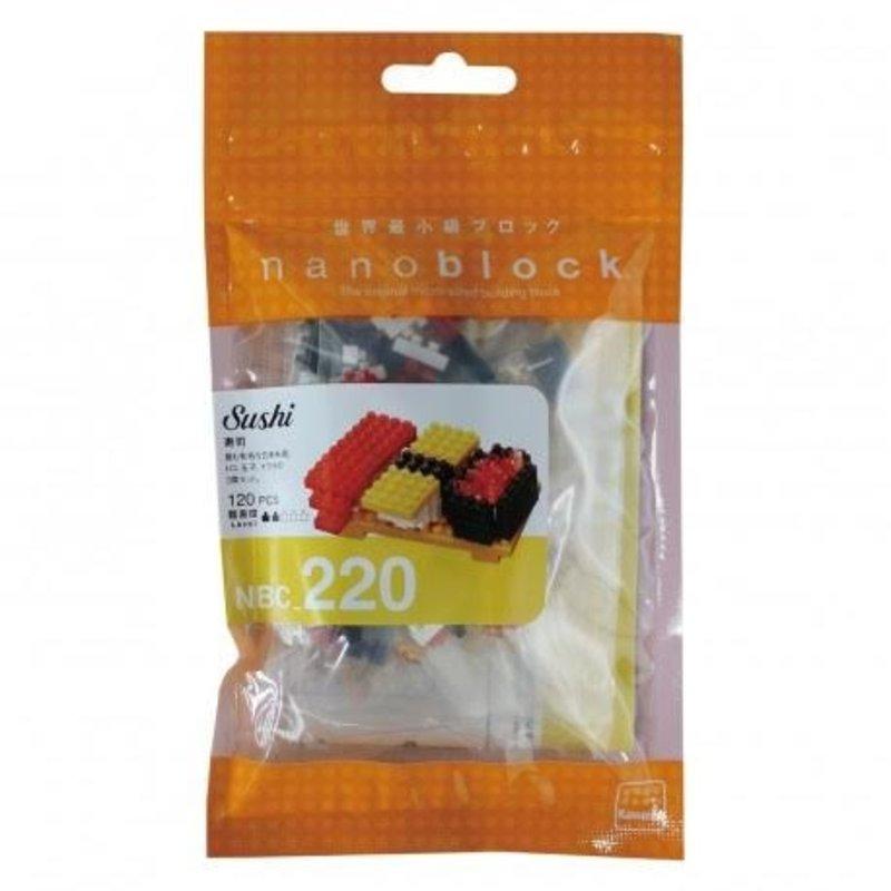 Nanoblock Sushi mini lego