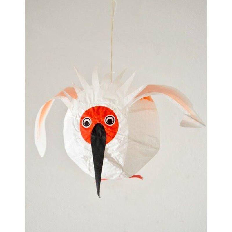 Papieren Ballonnetje Kraanvogel
