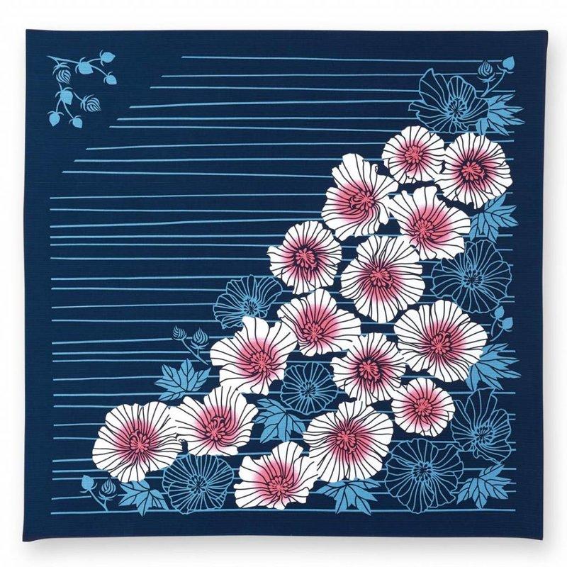 Japanse furoshiki knoopdoek met lelies