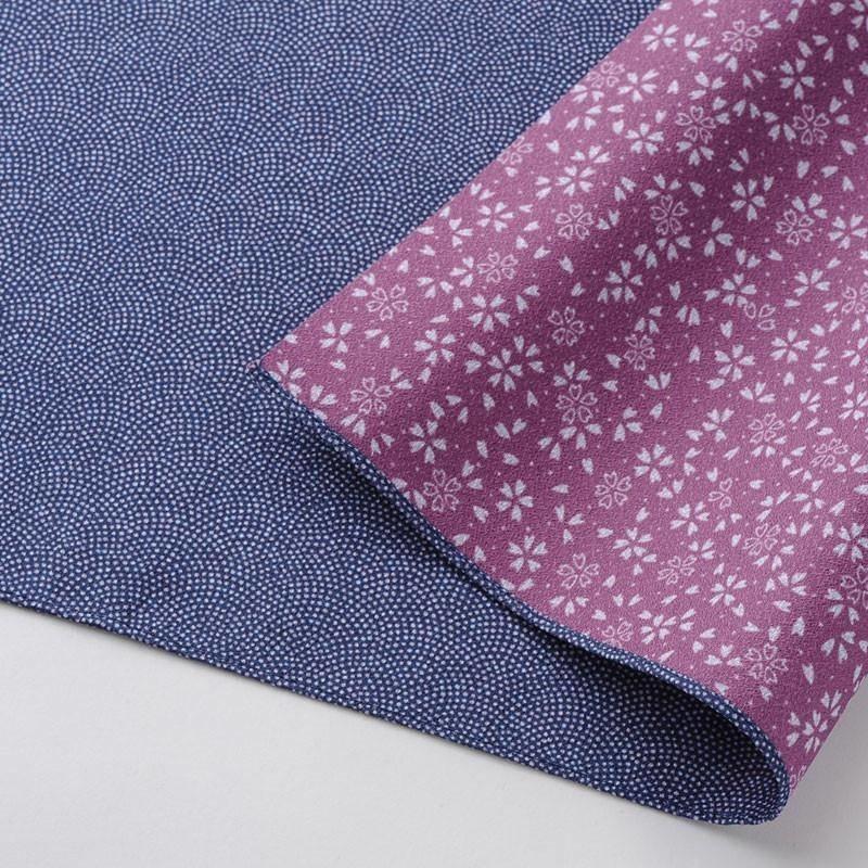 Furoshiki reversible blue-purple