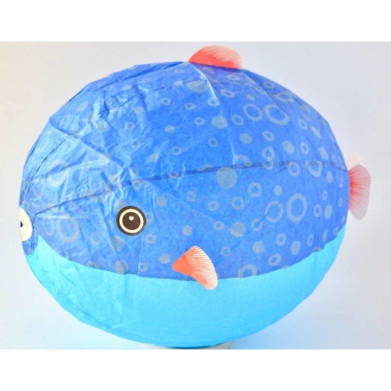 Japanse papieren ballon kogelvis XL