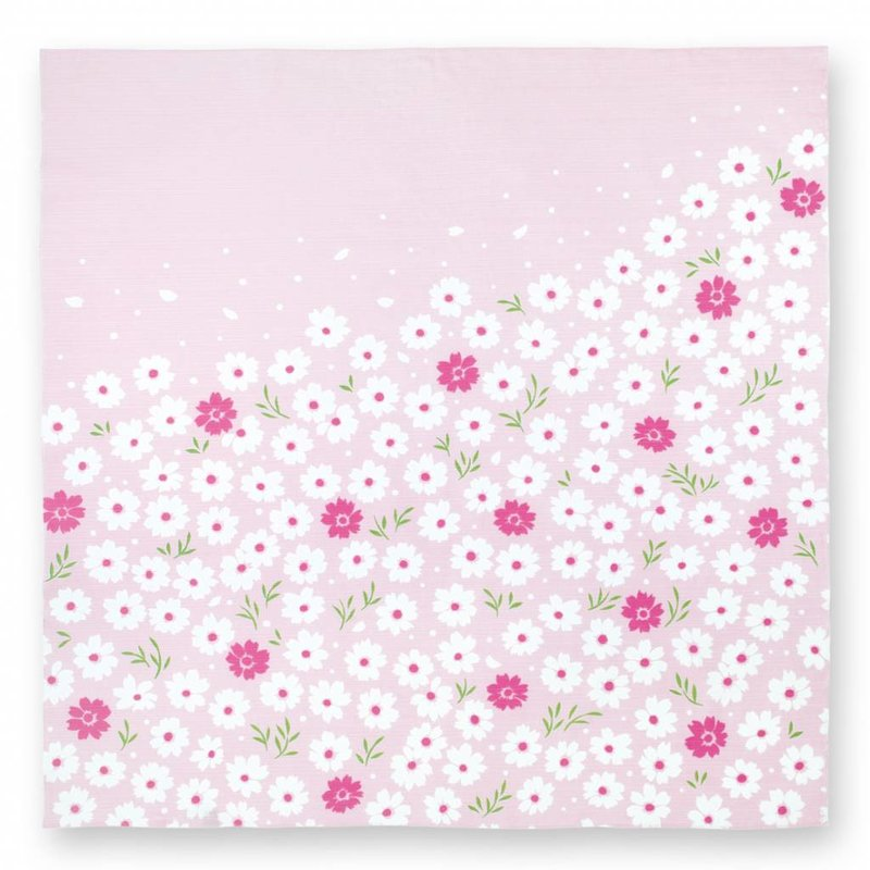 Furoshiki cherry blossom, Japanese button cloth