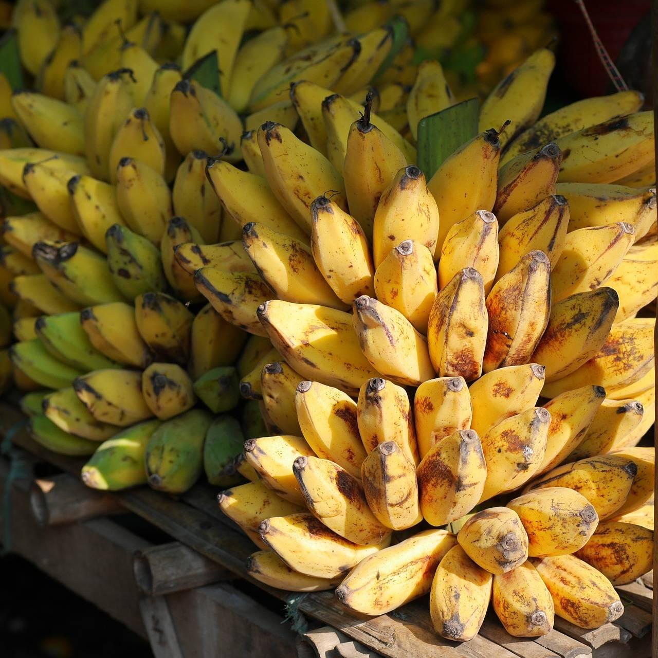 Een banaan met veel energie