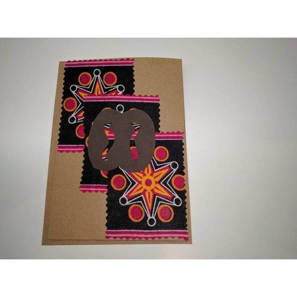 Creating African greeting cards