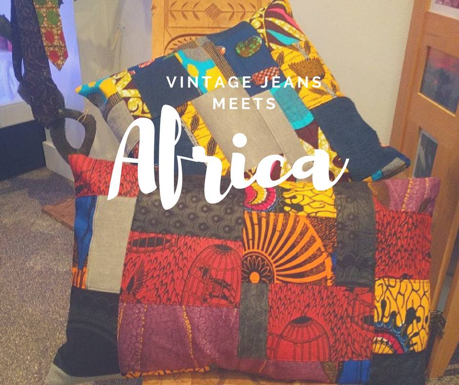 Vintage jeans meets Africa