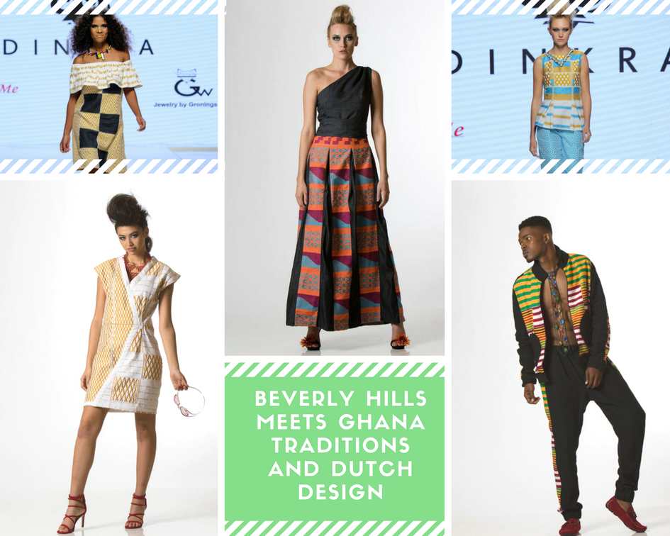 Beverly Hills meets Ghana Traditions and Dutch Design