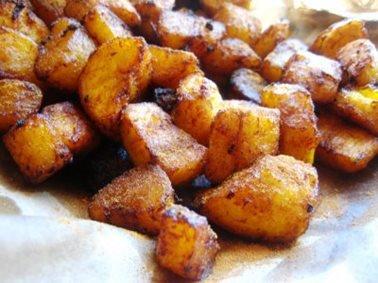 Recept voor bananenchips (Kelawele)