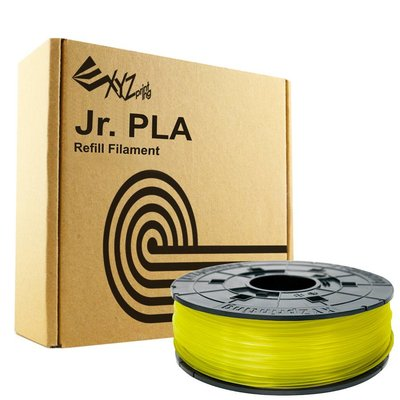 XYZprinting Junior / Mini PLA - Clear Yellow - 600 gram