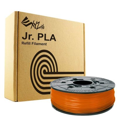 XYZprinting Junior / Mini PLA - Clear Tangerine - 600 gram