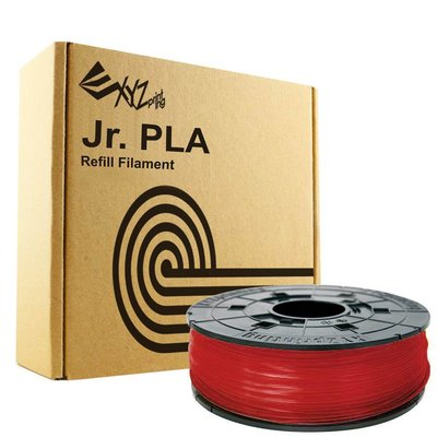 XYZprinting Junior / Mini PLA - Clear Red - 600 gram