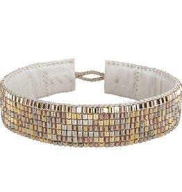 TEMBI JEWELLERY armband Venice RMB04 B A M B O O  7  R O W